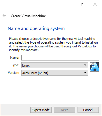 SVM virtualbox